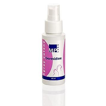 MP LABO dermidine antiséptico para Gato y Perro - Spray de 60 ML: Amazon.es: Productos para mascotas