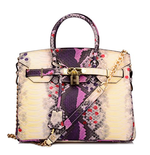Snake Skin Handbag - 9