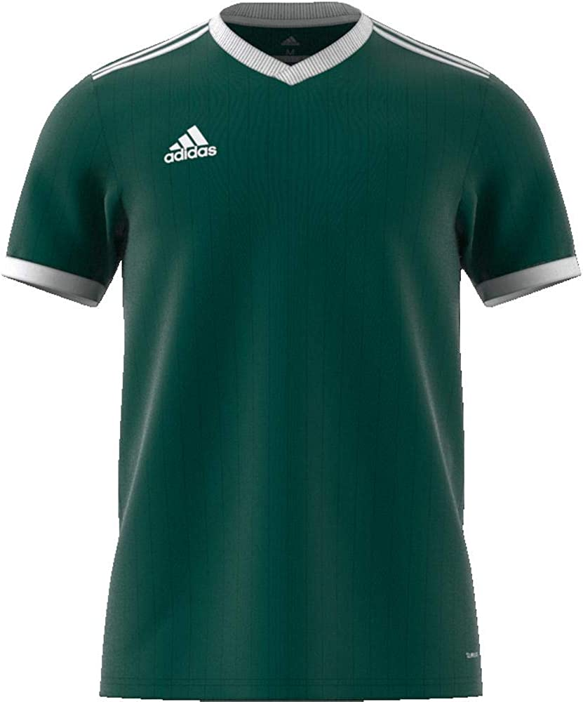 adidas Tabela Jersey Shirt 18, Men, CE8938 Collegiate Green/White