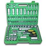 JBM 50521 - Pack de 108 piezas con vasos hexagonales en estuche (cincado) color verde