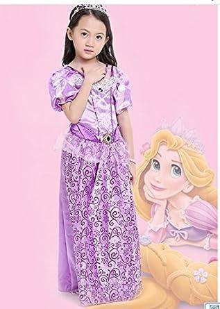 ae48c2ceae341 k012 コスプレ衣装 キッズ 子供 ディズニープリンセス ドレス ラプンツェル オーロラ姫 シンデレラ 白雪姫 ソフィア Disney  Princess