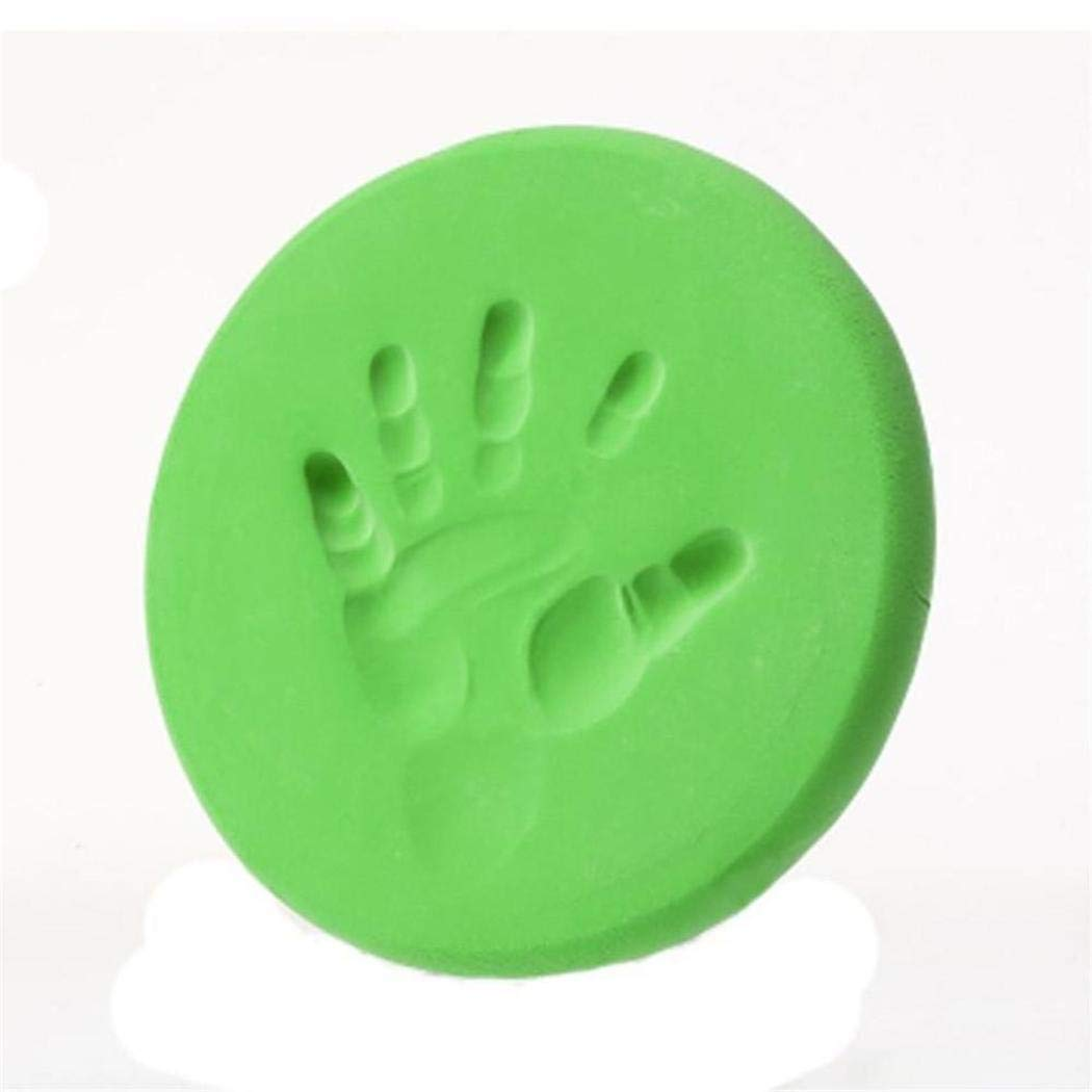 Xixou Baby Soft Clay Handprint Footprint Imprint Fingerprint DIY Toy Hand /& Footprint Makers