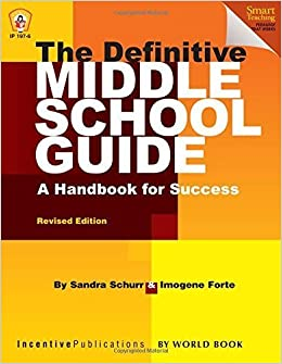 Book The Definitive Middle School Guide by Sandra Schurr (2014-03-01)