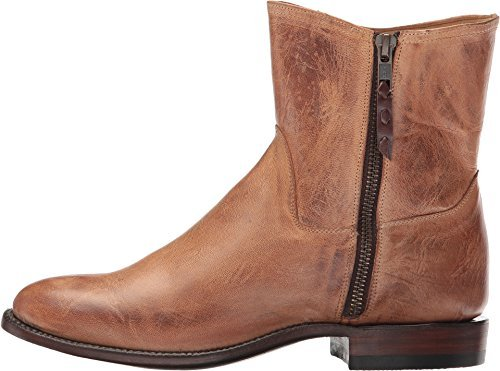 Lucchese Tan Goat Boots - 3