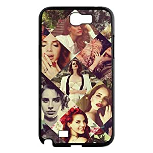 T-TGL(RQ) Unique Design Lana Del Rey Pattern Protective Cell Phone Case for Samsung Galaxy Note 2 N7100