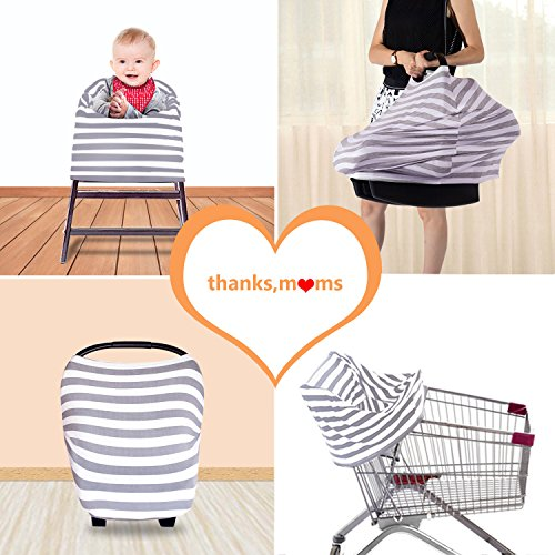 Kyapoo Baby Nursing Breastfeeding Cover Multi-Use Flexible Unisex Super Soft 100% Organic Cotton by Kyapoo (Image #4)