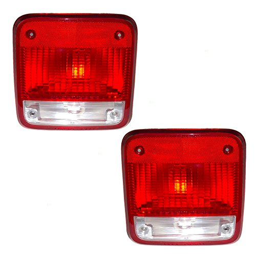 Chevrolet G30 Van (Driver and Passenger Taillights Tail Lamps Replacement for Chevrolet GMC Van 5977495 5977496)