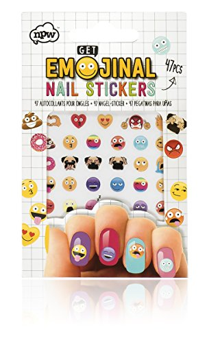 NPW-USA EmojiNail Art Sticker Decals