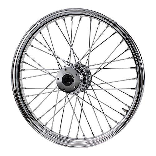 (Chrome Front 40 Spoke Wheel 21