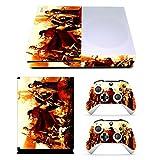 EBTY-Dreams Inc. - Microsoft Xbox One Slim - Final Fantasy VII FF7 FFVII Dirge of Cerebrus Vinyl Skin Sticker Decal Protector