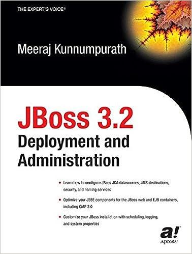 JBoss 3.2 Развертывание и администрирование