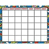 Teacher Created Resources Superhero Calendar Chart (7569)