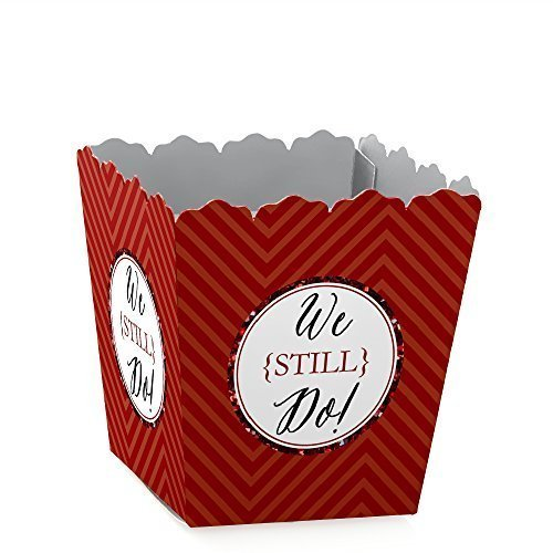 40th Anniversary Set (We Still Do - 40th Wedding Anniversary Candy Boxes Party Favors (Set of)