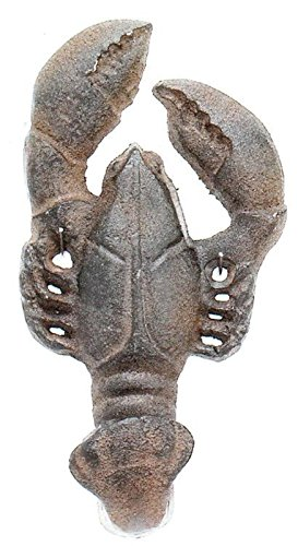 - Moby Dick Antique Reproduction Cast Maine Lobster Wall Decor Hook