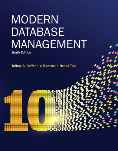 Modern Database Management (10th Edition)