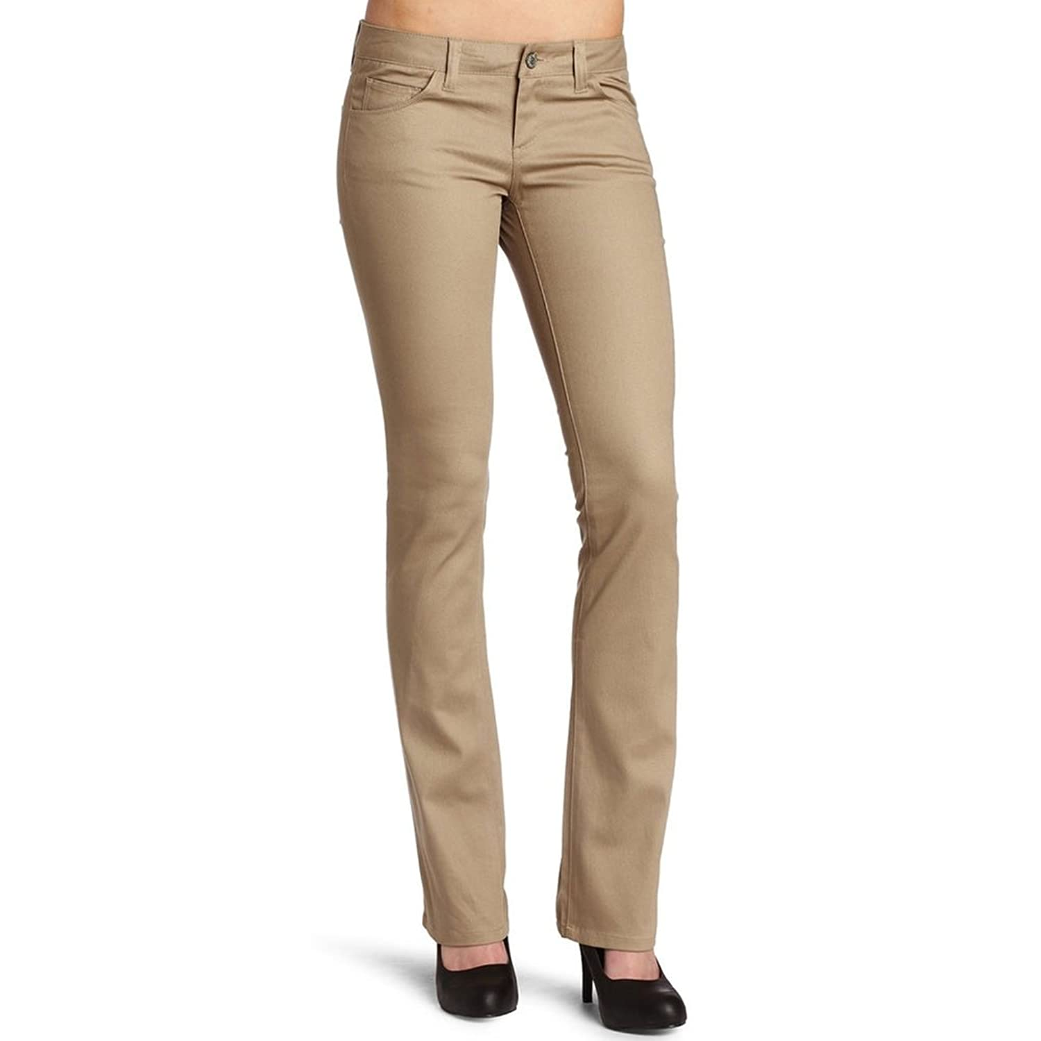 Dickies Girl - The Worker Mid Rise Straight Leg