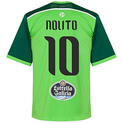 Celta Vigo Away Nolito Jersey 2014 / 2015 (Fan Style Printing) - L
