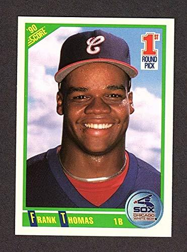1990 Score #663 Frank Thomas Rookie Cards White Sox