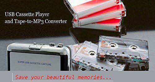 Walkman Convertitore di Audiocassette in Mp3 con Host Usb senza PC