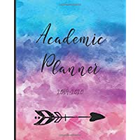 Academic Planner 2019-2020: June to July Weekly and Monthly Organizer with Notes and Inspirational Quotes