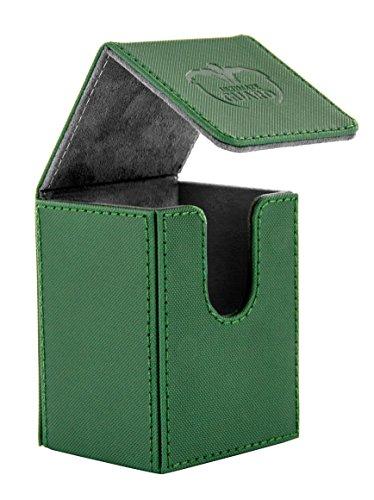 - Ultimate Guard Flip Deck Case 80+ XenoSkin Standard Size Green Card Game