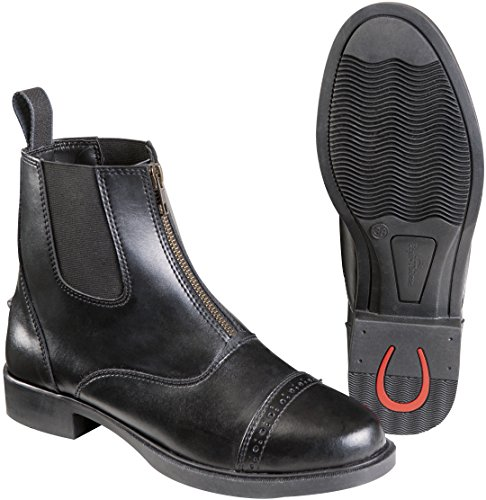 """Boots equi-Thème """"Zip sintético negro"""
