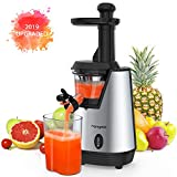 Homgeek Juicer Slow Masticating Juicer Extractor, Cold Press Juicer Machine, Quiet Motor
