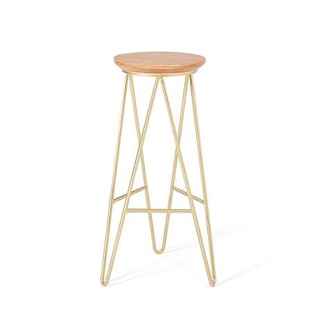 Outstanding Amazon Com Ylcj Bar Chair High Stool Bar Stool Reception Bralicious Painted Fabric Chair Ideas Braliciousco
