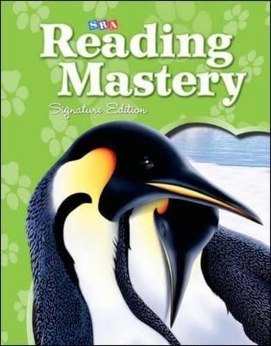Reading Mastery Reading/Literature Strand Grade 2, Workbook A (READING MASTERY LEVEL VI)