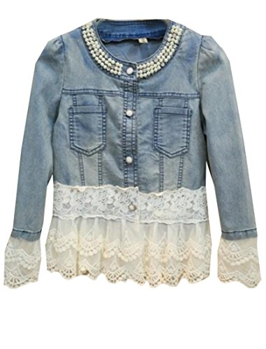 Lace And Beaded Jacket - 3