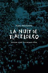 La Nuit de Tlatelolco par Elena Poniatowska
