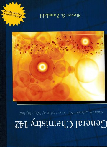 General Chemistry 142 (Chemical Principles) (General Chemistry 142)