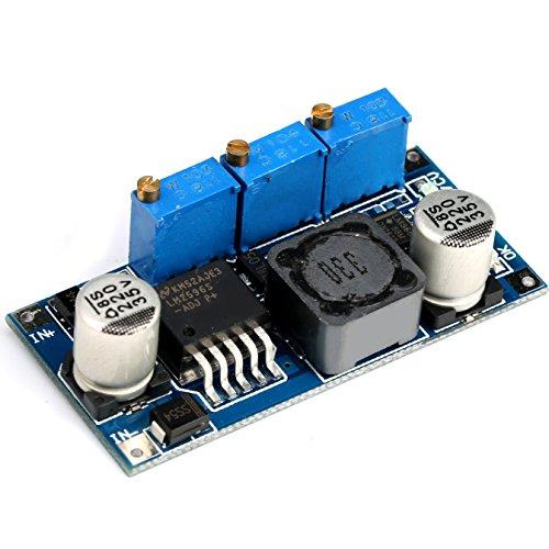 GEREE LM2596 LM2596S DC DC Converter Constant Current Voltage Regulator 5-35V to 1.25-30V LED Driver Battery - Constant Battery Voltage Charger