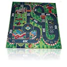 Road Racing Track Toddler City Play Mat Kids Floor Activity Children Toy Truck Car Grand Prix Race