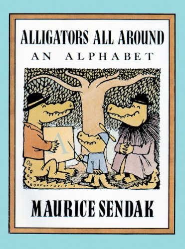 Alligators All Around (Turtleback School & Library Binding Edition) (The Nutshell Library)