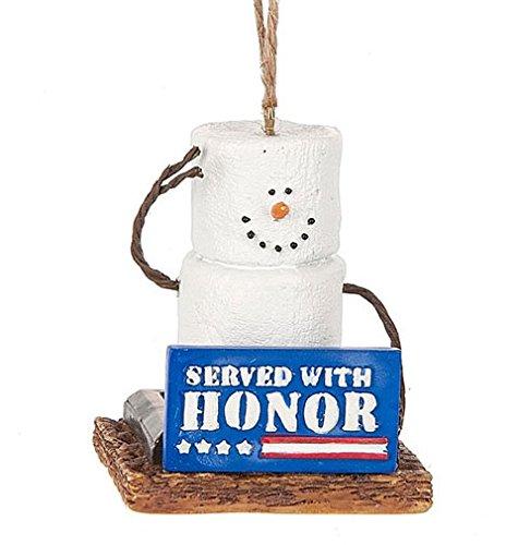 (S'mores Original SERVED W/ Honor Snowman Ornament)