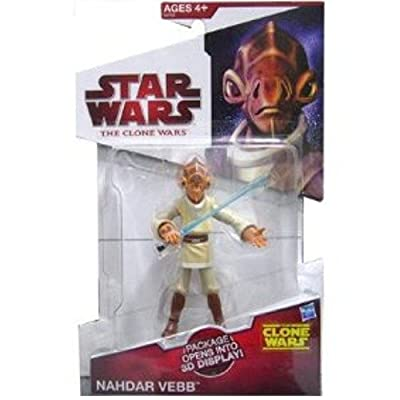 "Star Wars The Clone Wars Animated 3 3/4"" Nahdar Vebb Mailaway Action Figure"