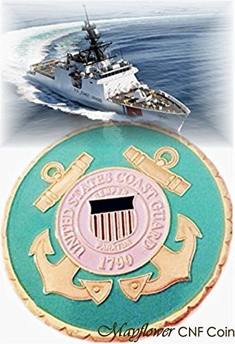 Mayflower CNF Coin *U.S. Coast Guard Most Urgent Challenge Coin* Rare - Salute to our Heroes !