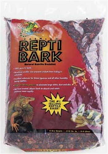 Zoo Med Reptile Bark Fir Bedding 8 Quarts Reviews