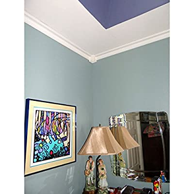 "Ekena Millwork 2-1/4"" H x 2-1/4"" P x 3-1/4"" F x 94-1/2"" L Jefferson Traditional Smooth Crown Molding by Ekena Millwork"