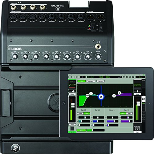 (Mackie DL DL806 8-Channel Digital Live Sound Mixer with Apple Lightning Connector )