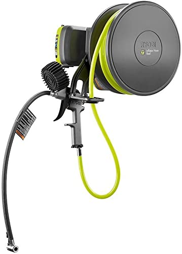 Ryobi GDM800 High Pressure Air Inflator Accessory Works with Exclusive RYOBI App to Control Settings via Smartphone