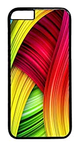 ACESR Colorful Abstract iPhone 6 Hard Case PC - Black, Back Cover Case for Apple iPhone 6(4.7 inch)