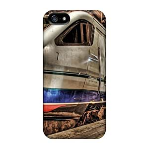 Cute High Quality Iphone 5/5s Metro Train Hdr Case by icecream design