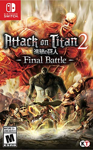 Attack on Titan 2: Final Battle for Nintendo Switch USA: Amazon.es: Koei Tecmo America Corpor: Cine y Series TV