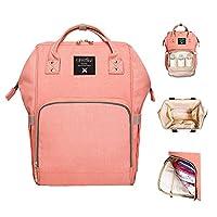 Sunveno Mummy Maternity Nappy Bag Large Capacity Baby Bag Travel Backpack Nur...