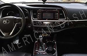 american dash toyota highlander interior wood dash trim kit set 2017 2018 2019. Black Bedroom Furniture Sets. Home Design Ideas