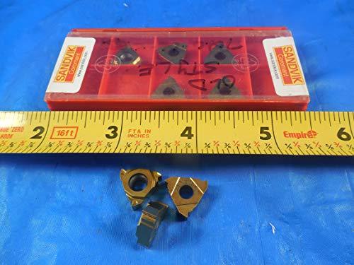 8PCS SANDVIK R166.0 G-16MM01-20060 ISO-2.0 EXT R 1020 Carbide Threading ()