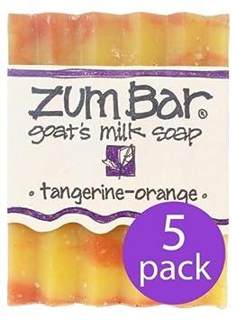 Tangerine Orange Zum Bars Multipack 5 Count br by Indigo Wild