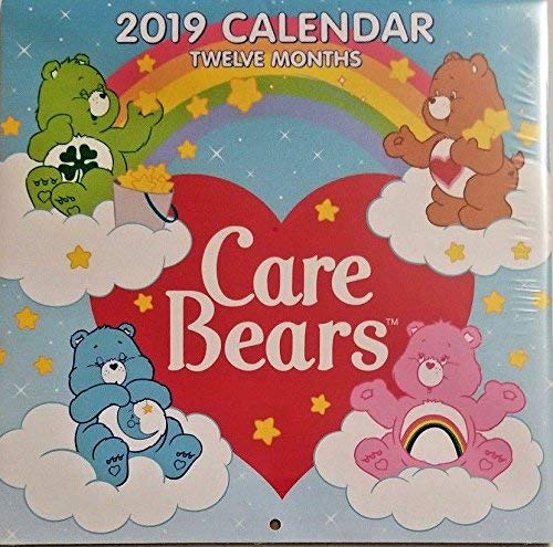 Care Bears 2019 Wall Calendar 12 Month New Sealed 10'' X 20''